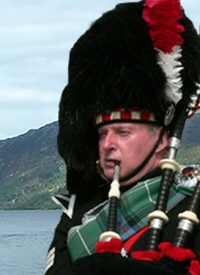 Phil McConnell - Bagpiper